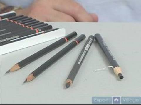 Charcoal Drawing Basics : Art Supplies for Charcoal Drawing