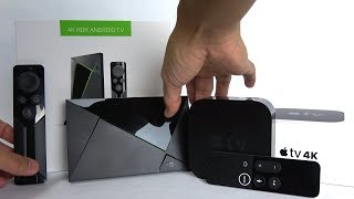 Why the Apple TV 4k Destroys the NVIDIA Shield TV (...or does it?)