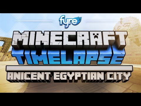 Minecraft Timelapse – Ancient Egyptian City – 2MineCraft.com