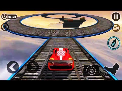 Impossible Stunt Car Tracks 3D-Best Android Gameplay HD #6 (GAME COMPLETE)