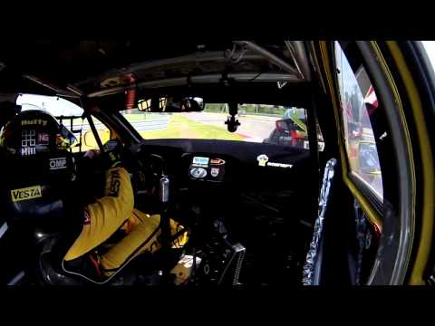 Russia 2015 - Race 2, Fight of Rob Huff and Norbert Michelisz