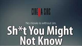 Stuff You May Not Know About Cinema Sins