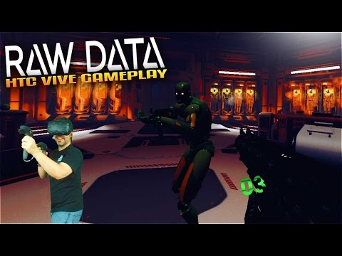 Raw Data VR Gameplay - HTC Vive VR FPS Tower Defence
