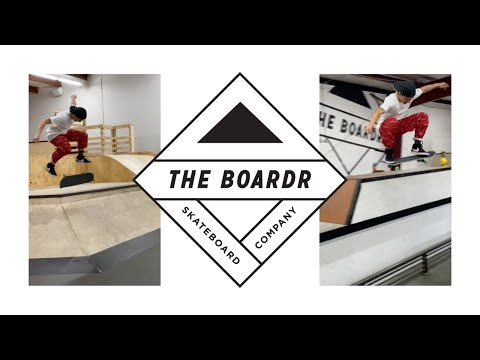 Jereme Knibbs at The Boardr HQ