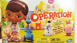 Doc McStuffins Operation by Hasbro Disney