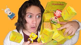 Opening 24 Nickelodeon Mystery Mini Blind Boxes!