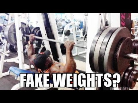 Kali Muscle - FAKE WEIGHTS