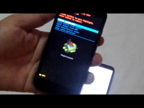 Motorola G Moto G xt1032 QUITAR CODIGO PATRON SEGURIDAD bloqueo master reset hard reset2
