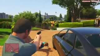 GTA 5 Смешные моменты #1 (приколы, баги, геймплей, глюки)