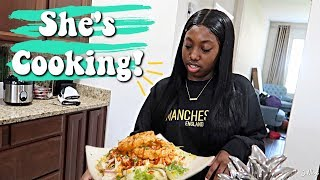 She's cooking?! 🧐| Family Vlogs | JaVlogs
