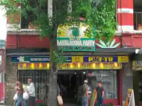 Marc Emery's Cannabis Culture Headquarters, Vancouver BC Video