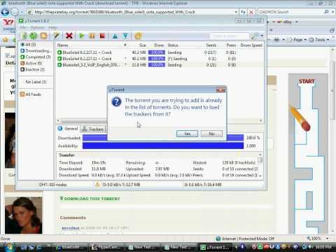 Посмотреть ролик - Смотреть: bluetooth software for vista witch crack ( blu