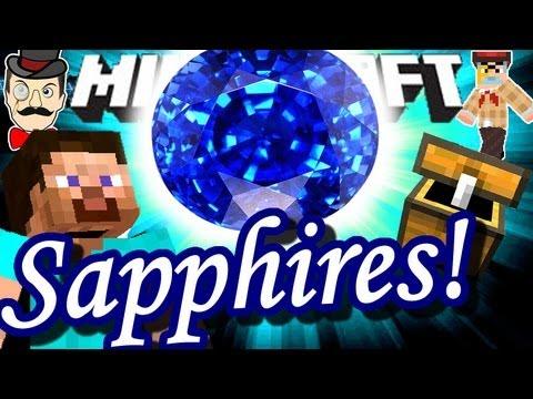 Minecraft SAPPHIRE Mod! Epic New Ore!