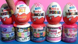 Mashems Fashems Mania Collection Sanrio Hello Kitty, My Little Pony, Kinder Egg Surprise by Funtoys