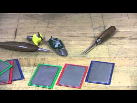 Video of 3-inch Credit Card Style Dia-Sharp® Sharpeners