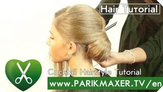 Cocktail Hairstyle Tutorial parikmaxer tv english version