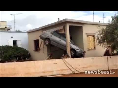 Newsbeast.gr - Βιβλική καταστ�οφή με νεκ�ο�ς στη Μάνδ�α Αττικής