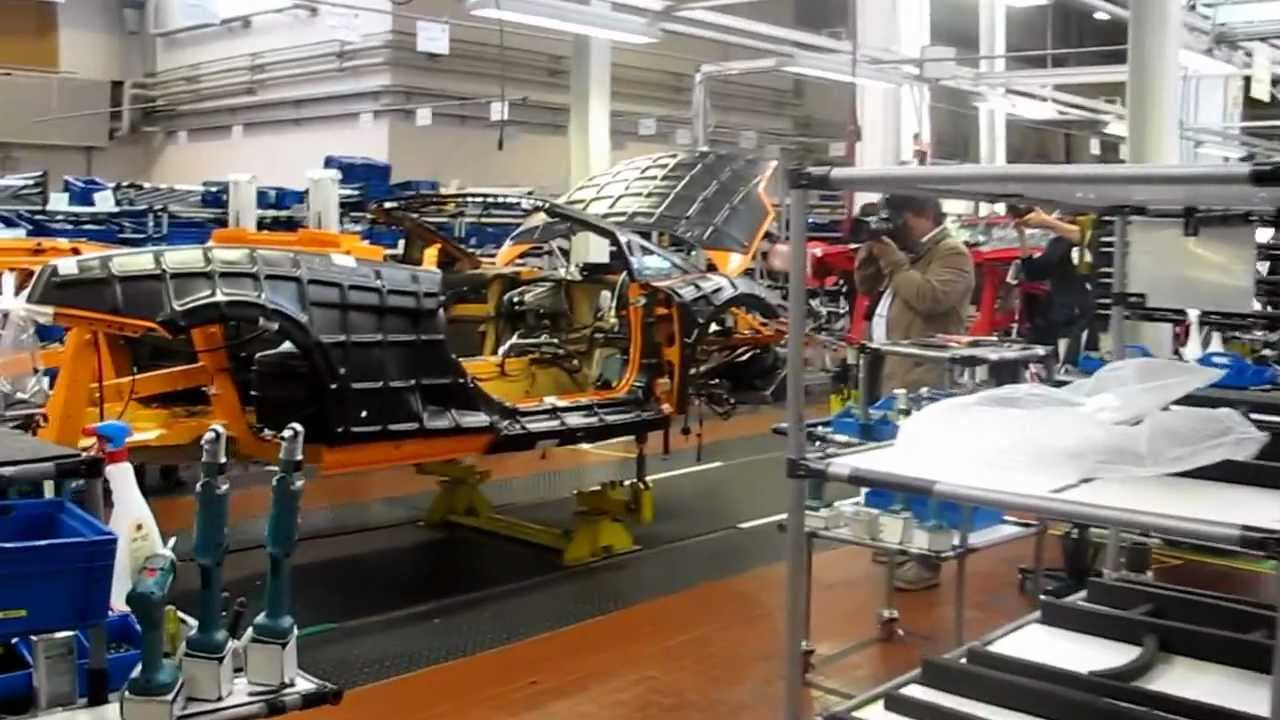 Lamborghini Factory Tour Youtube