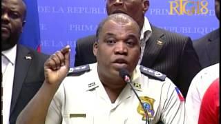 VIDEO: Haiti - Prisonnier Clifford Brandt Apprehende - Declaration Laurent Lamothe