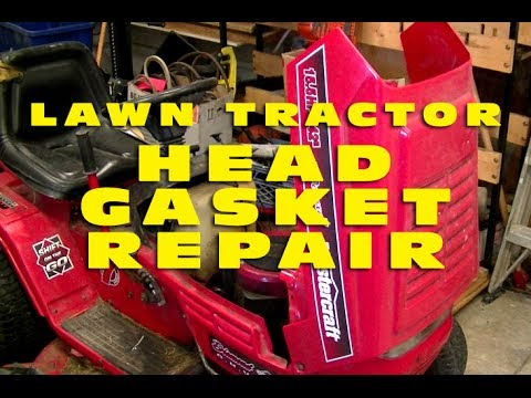 Lawn Tractor Head Gasket Replacement