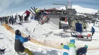 ski lift accident, gudauri