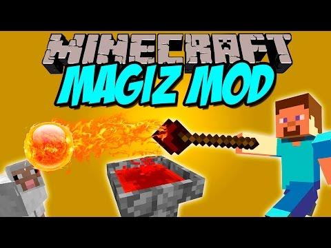 MAGIZ MOD - Miles de combinaciones Magicas! - Minecraft mod 1.8 Review ESPAÑOL