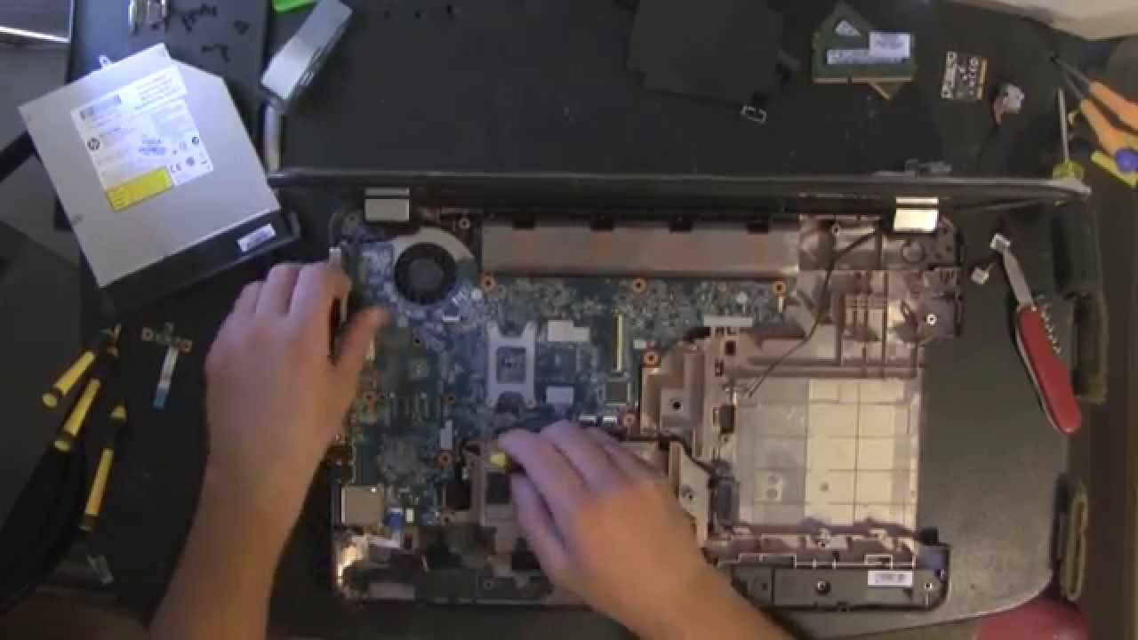 Hp Pavilion G7 Take Apart Video Disassemble How To Open
