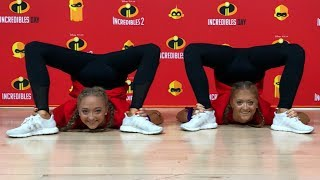 INCREDIBLES 2! Contortion challenge inspired by Elastigirl from Incredibles 2