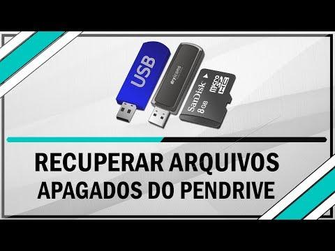 Como recuperar arquivos apagados do pendrive ou um cartão de memória - 100% Funcional