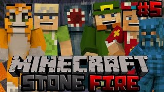Minecraft Xbox - Stonefire PvP Map - 5 - w/ Stampy, Squid, InTheLittleWood, ChooChoo
