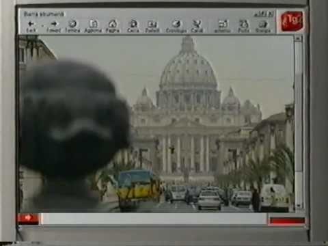 GIOVANNIRUSSOGRAFICO on Tg2Net (RAI 2, Italy)