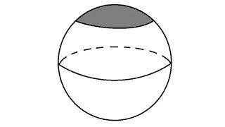 Volume of a cap of sphere