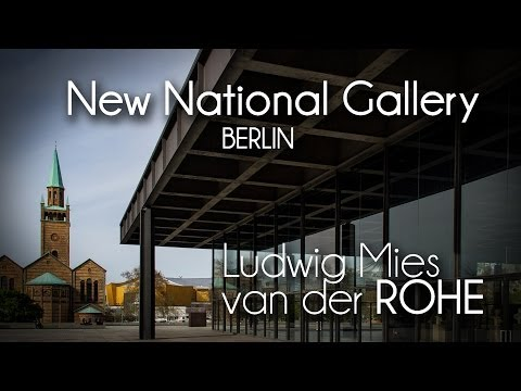 L.Mies van der Rohe - New National Gallery