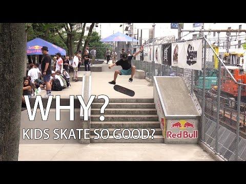 Why kids are good at skateboarding? Yuto Horigome, Daisuke Ikeda, Sora Shirai and Keyaki Ike