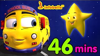 download lagu Top 25 Nursery Rhymes  Wheels On The Bus gratis