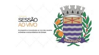 Guapiaçú - Câmara Municipal ao Vivo