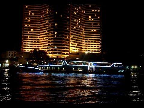 Bangkok River Cruise at Night Chao Phraya River