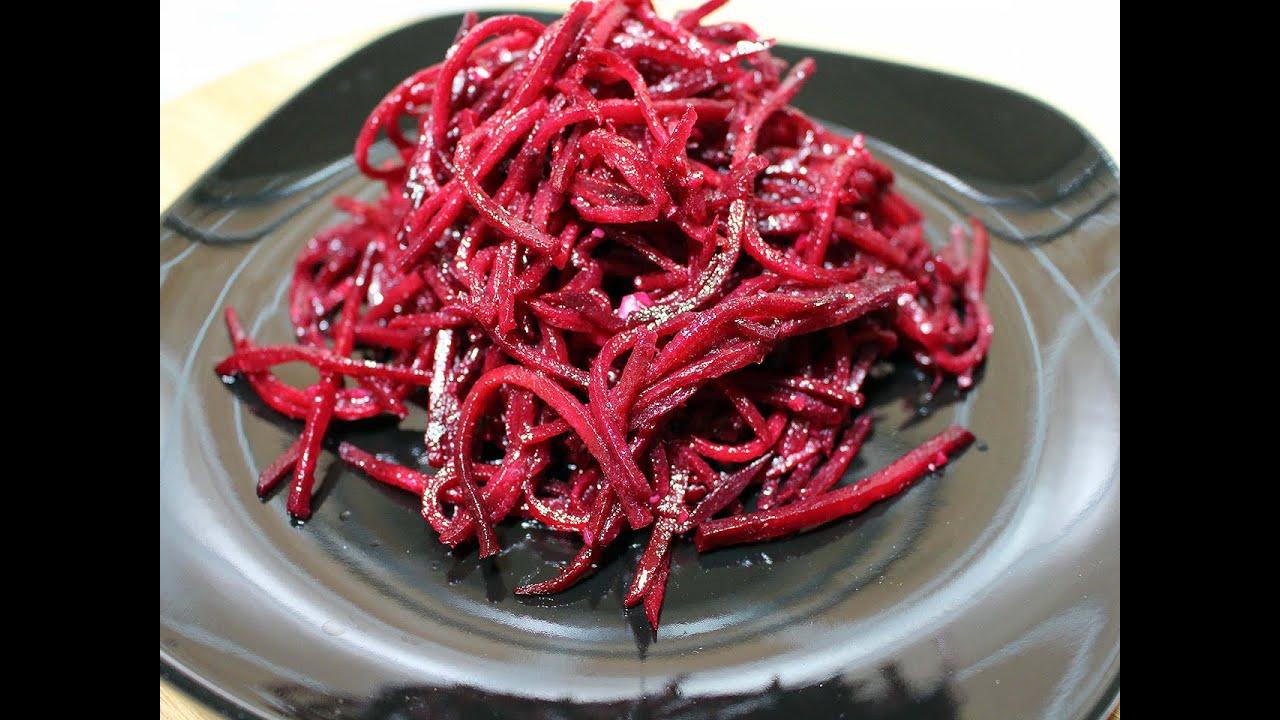 Рецепт салата из свеклы на зиму свекла морковь лук сладкий перец