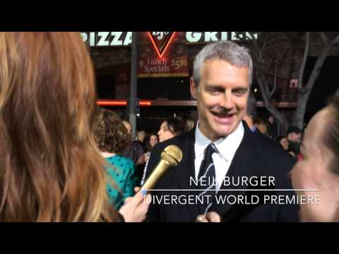Neil Burger At The Divergent World Premiere