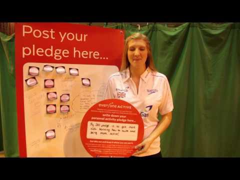Pledge 2015: Rebecca Adlington