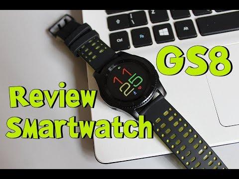 Todo mundo pode comprar! Review Smartwatch GS8 mais Completo MAIS BARATO do Mercado [Português BR]