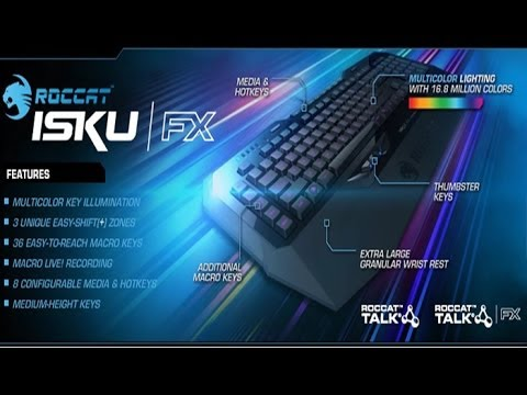 ROCCAT ISKU FX - Обзор, Распаковка