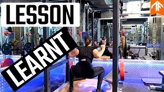 Learning My Lesson | Squat
