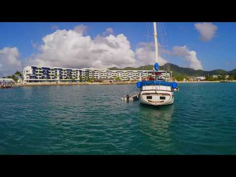 "WORLD'S FIRST SUBMARINE DRONE!! The ""MARINER"" Waterproof Drone, filmed in St Maarten, SXM, CARIBBEAN"