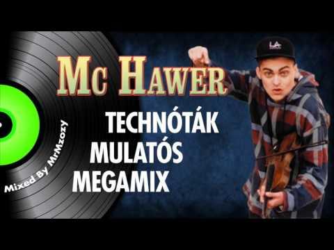 Mc Hawer - Technóták Mulatós Megamix | Nagy Zeneklub |