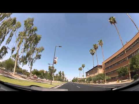 Driving through Phoenix, Arizona - GoPro HD Hero2