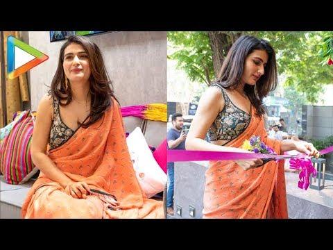 Fatima Sana Shaikh Inauguarates Pop-Up Shop at Bandra thumbnail