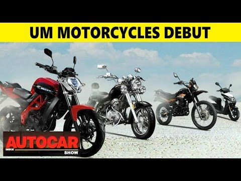 UM Motorcycles Debut in India with Renegade Sport S | Auto Expo 2016