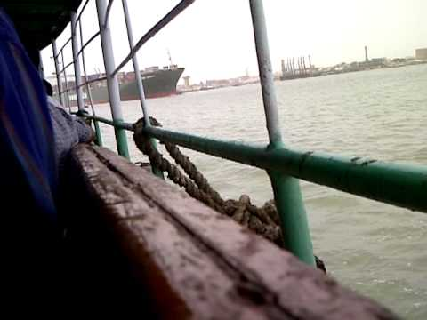Internship Day - Ship Departure from Karachi Port EVERGREEN