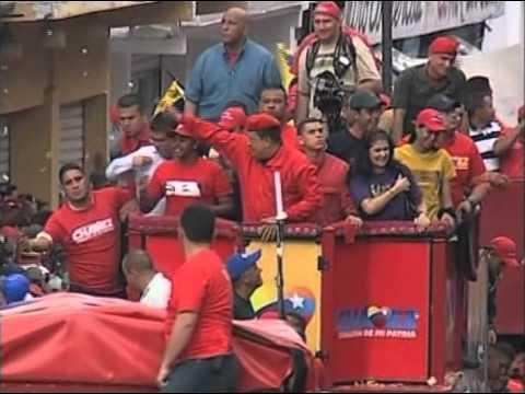 19 JUL 2012 SAN JUAN DE LOS MORROS-GUÁRICO dice: Chávez, Corazón de mi Patria